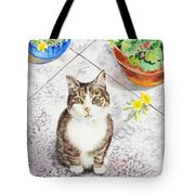 Here Kitty Kitty Kitty Tote Bag