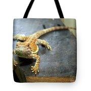 Here Lizard Lizard Tote Bag