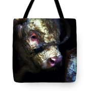 Hereford Bull 2 Tote Bag