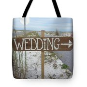 Here's The Wedding Tote Bag