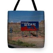 Here's Utah Tote Bag
