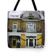 Heritage Home In Yellow Tote Bag
