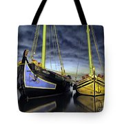 Heritage In Mirrored Water Tote Bag