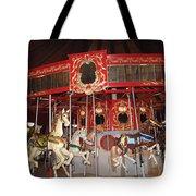 Heritage Looff Carousel Tote Bag