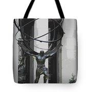 Herkules Abstract Nyc Tote Bag