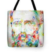 Herman Melville Watercolor Portrait.1 Tote Bag