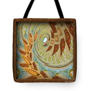 Hermitage Abstract Swirl  Tote Bag
