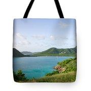 Hermitage Bay Panorama Antigua Tote Bag