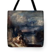 Hero And Leander's Farewell Tote Bag