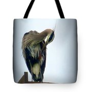 Heron Grooming Tote Bag