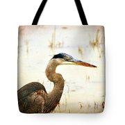 Heron Tote Bag by Marty Koch