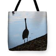 Heron On The River Tote Bag