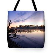Heron Sunrise On The Bon Secour Tote Bag