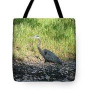 Heron Travels  Tote Bag
