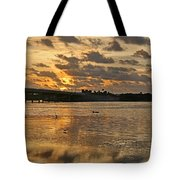 Herons And Egrets And Porpoise Oh My Tote Bag