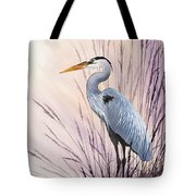 Herons Driftwood Home Tote Bag