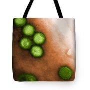 Herpes Simplex Virus Tem Tote Bag