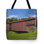Herr Mill Covered Bridge Tote Bag