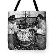 Herring Fishing Howth 1955  Tote Bag