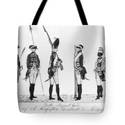 Hessian Soldiers Tote Bag