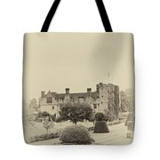 Hever Castle Yellow Plate 2 Tote Bag by Chris Thaxter