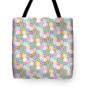 Hexagonal Cubes Tote Bag