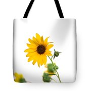 Hi Key Sunflower Tote Bag