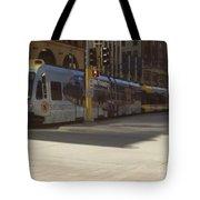 Hiawatha Line Light Rail Tote Bag