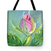 Hibiscus Blossom Tote Bag