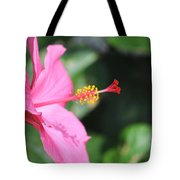 Hibiscus Bush Tote Bag