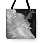 Hibiscus Profile Tote Bag