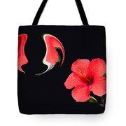 Hibiscus Seed Dream Digital Art Tote Bag