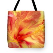 Hibiscus Tote Bag by Tony Cordoza