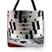 Hidden Ace Tote Bag by John Rizzuto