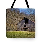 Hidden Barn Tote Bag by Cricket Hackmann