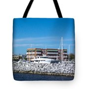 Hidden Behind The Rocks Tote Bag