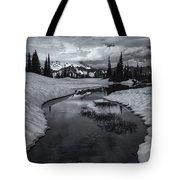 Hidden Beneath The Clouds Tote Bag