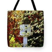 Hidden Bird House Tote Bag