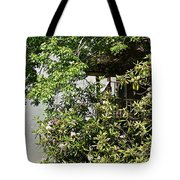 Hidden Cabin Escape Tote Bag
