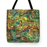Hidden Figures By Rafi Talby Tote Bag