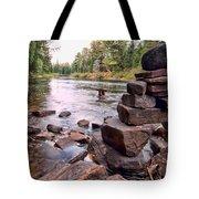 Hidden Fisherman Tote Bag