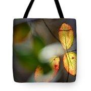 Hidden Forest Leaves Tote Bag