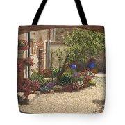 Hidden Garden Villa Di Camigliano Tuscany Tote Bag