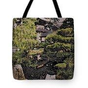 Hidden Pagoda Tote Bag