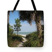 Hidden Path To The Beach Tote Bag