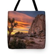 Hidden Valley Rock - Joshua Tree Tote Bag
