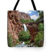 Hidden Waterfalls Tote Bag