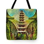 Hidden Zen Tote Bag