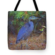 Hiding In The Pine Needles Tote Bag