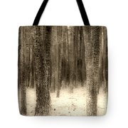 Hiding In The Trees By Diana Sainz Tote Bag